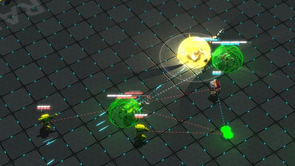 Скриншот №2 к GLADIABOTS - AI Combat Arena