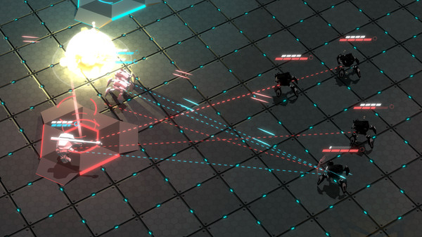 Скриншот №11 к GLADIABOTS - AI Combat Arena