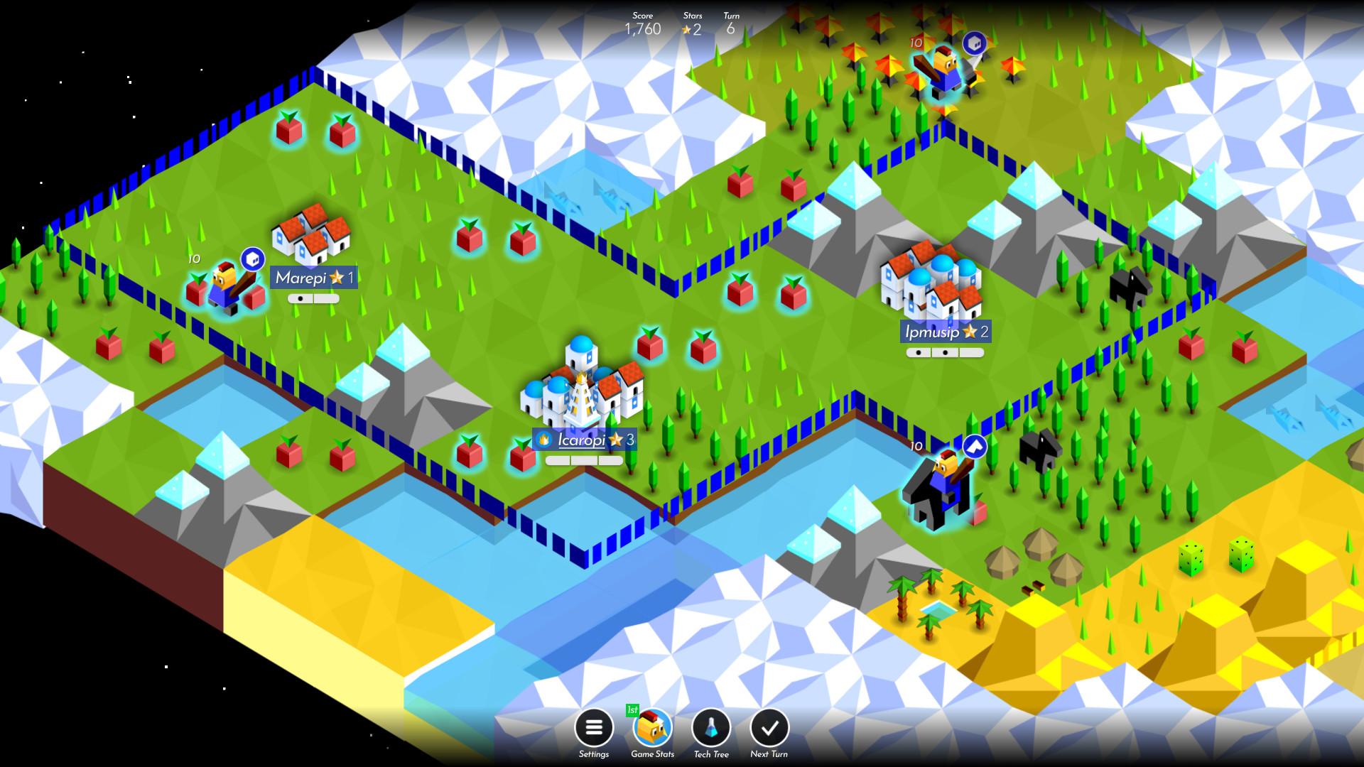 Battle of Polytopia 2 - Top underappreciated indie games of 2020