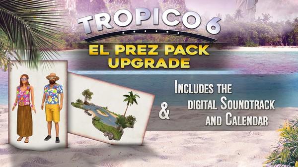 Скриншот №1 к Tropico 6 - El Prez Edition Upgrade