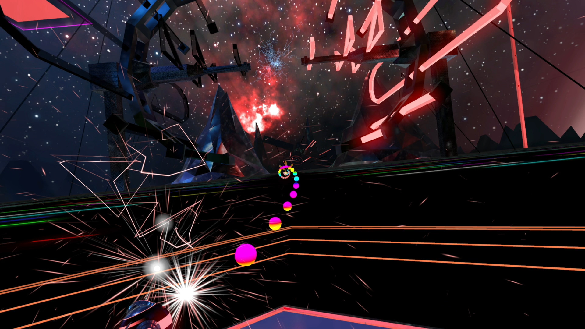 Oculus Quest 游戏《Synth Riders》合成骑士插图