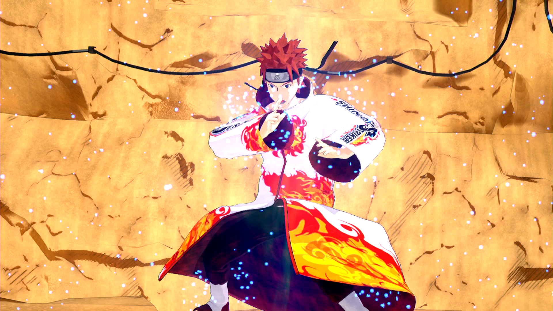 KHAiHOM.com - NTBSS: Shinobi Strikers Coat: White (Gender-Neutral)