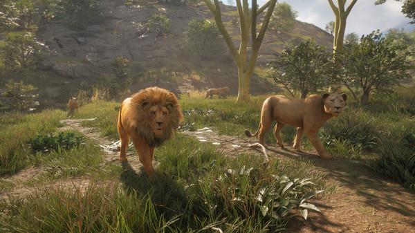 Скриншот №1 к theHunter Call of the Wild™ - Vurhonga Savanna