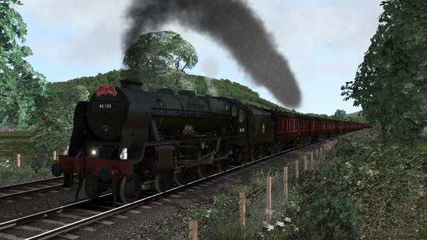 скриншот Train Simulator: LMS Rebuilt Royal Scot Steam Loco Add-On 5