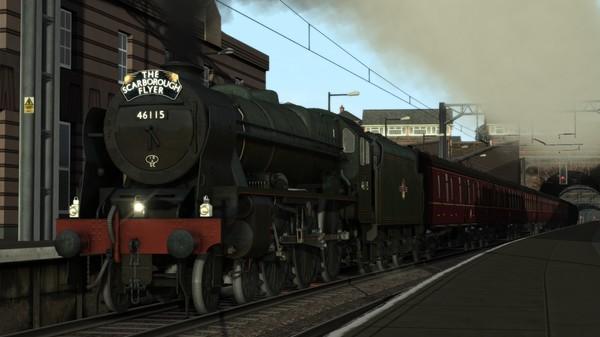 скриншот Train Simulator: LMS Rebuilt Royal Scot Steam Loco Add-On 4