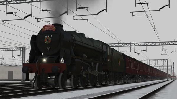 скриншот Train Simulator: LMS Rebuilt Royal Scot Steam Loco Add-On 1