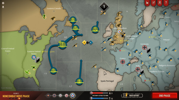 Скриншот №6 к Axis  Allies 1942 Online