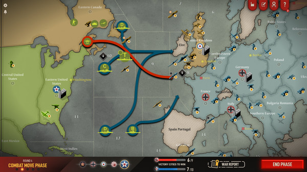 Скриншот №2 к Axis  Allies 1942 Online