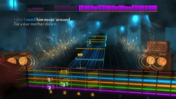 "Скриншот №4 к Rocksmith® 2014 Edition – Remastered – Queen - ""Tie Your Mother Down"""