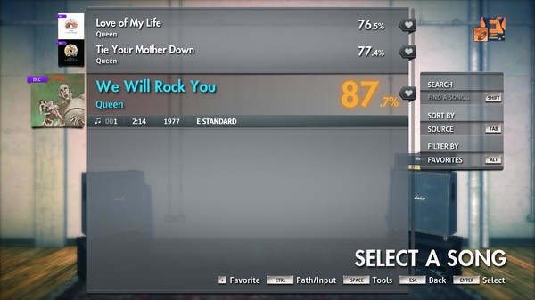 """Скриншот №3 к Rocksmith® 2014 Edition – Remastered – Queen - """"We Will Rock You"""""""