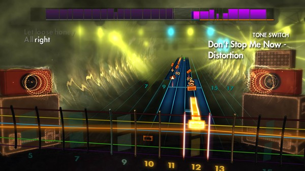 "Скриншот №1 к Rocksmith® 2014 Edition – Remastered – Queen - ""Dont Stop Me Now"""