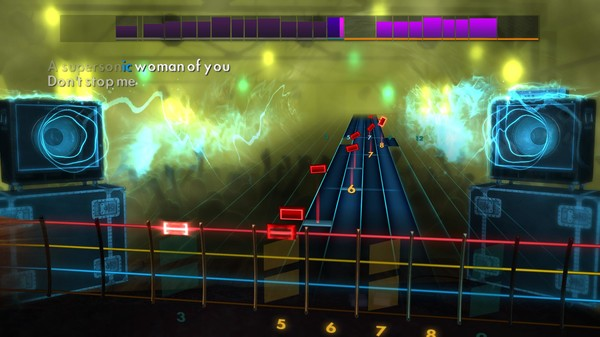 "Скриншот №4 к Rocksmith® 2014 Edition – Remastered – Queen - ""Dont Stop Me Now"""