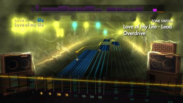 "Скриншот №1 к Rocksmith® 2014 Edition – Remastered – Queen - ""Love of My Life"""