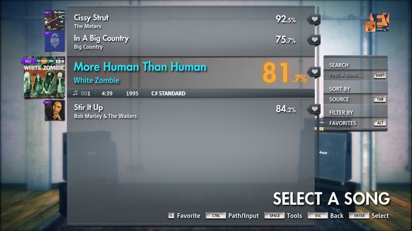 "Скриншот №1 к Rocksmith® 2014 Edition – Remastered – White Zombie - ""More Human Than Human"""