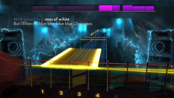 "Скриншот №1 к Rocksmith® 2014 Edition – Remastered – Elvis Presley - ""Blue Christmas"""