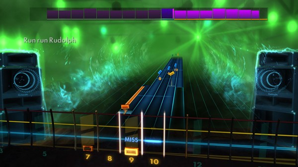 "Скриншот №4 к Rocksmith® 2014 Edition – Remastered – Chuck Berry - ""Run Rudolph Run"""