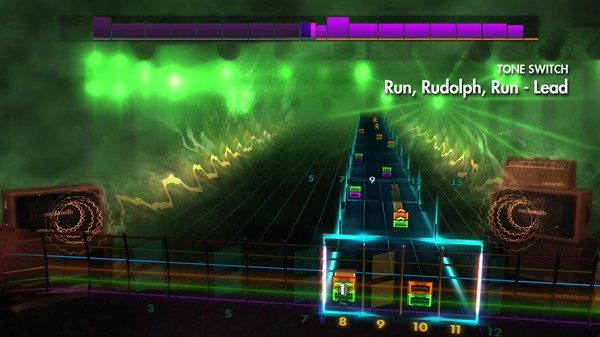 "Скриншот №2 к Rocksmith® 2014 Edition – Remastered – Chuck Berry - ""Run Rudolph Run"""