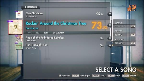 """Скриншот №5 к Rocksmith® 2014 Edition – Remastered – Brenda Lee - """"Rockin Around the Christmas Tree"""""""