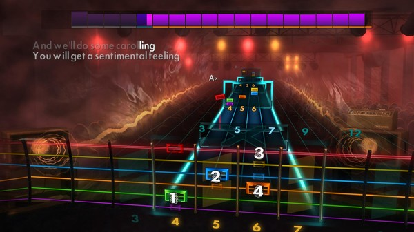 """Скриншот №3 к Rocksmith® 2014 Edition – Remastered – Brenda Lee - """"Rockin Around the Christmas Tree"""""""