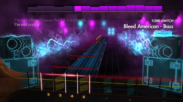 "Скриншот №5 к Rocksmith® 2014 Edition – Remastered – Jimmy Eat World - ""Bleed American"""