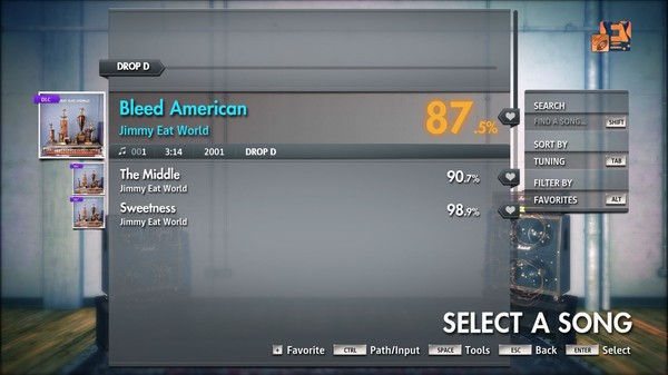 "Скриншот №3 к Rocksmith® 2014 Edition – Remastered – Jimmy Eat World - ""Bleed American"""