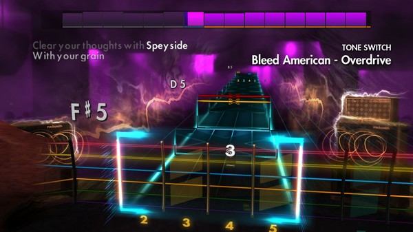 "Скриншот №1 к Rocksmith® 2014 Edition – Remastered – Jimmy Eat World - ""Bleed American"""