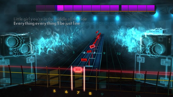 """Скриншот №5 к Rocksmith® 2014 Edition – Remastered – Jimmy Eat World - """"The Middle"""""""