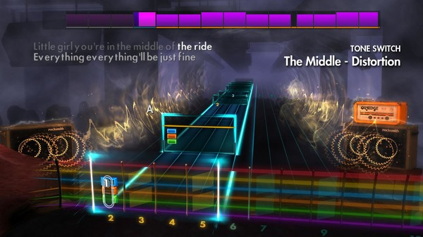 """Скриншот №2 к Rocksmith® 2014 Edition – Remastered – Jimmy Eat World - """"The Middle"""""""