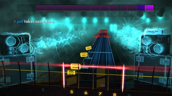 """Скриншот №4 к Rocksmith® 2014 Edition – Remastered – Jimmy Eat World - """"The Middle"""""""