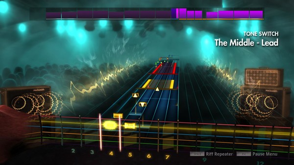 """Скриншот №3 к Rocksmith® 2014 Edition – Remastered – Jimmy Eat World - """"The Middle"""""""