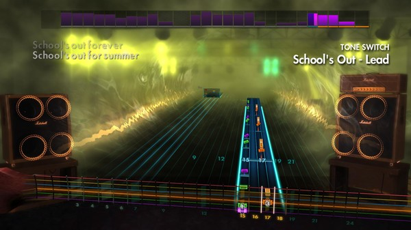 "Скриншот №5 к Rocksmith® 2014 Edition – Remastered – Alice Cooper - ""Schools Out"""