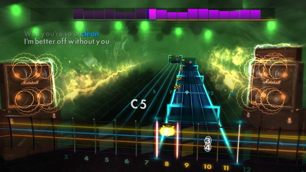Скриншот №3 к Rocksmith® 2014 Edition – Remastered – Five Finger Death Punch Song Pack