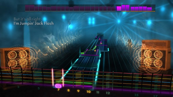 "Скриншот №3 к Rocksmith® 2014 Edition – Remastered – The Rolling Stones - ""Jumpin Jack Flash"""