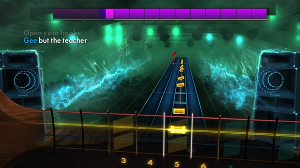 "Скриншот №4 к Rocksmith® 2014 Edition – Remastered – Chuck Berry - ""School Day Ring Ring Goes The Bell"""
