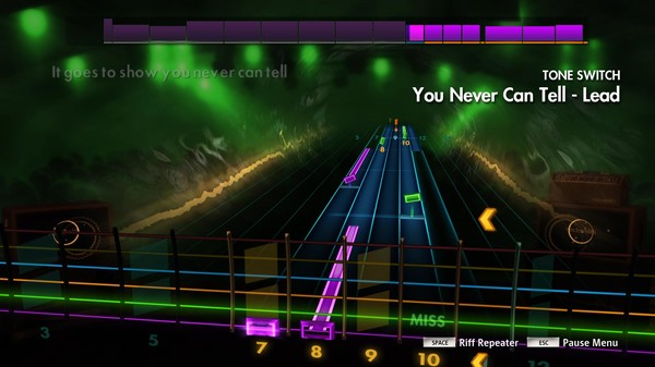 "Скриншот №1 к Rocksmith® 2014 Edition – Remastered – Chuck Berry - ""You Never Can Tell"""