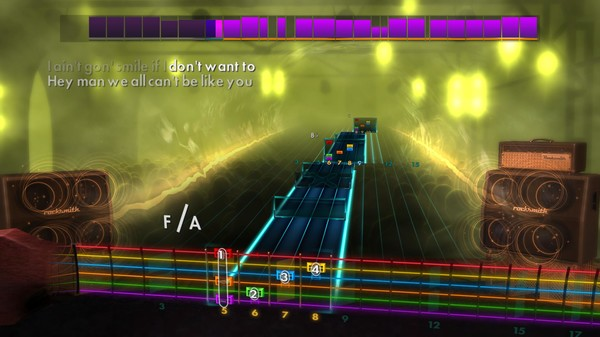 Скриншот №3 к Rocksmith® 2014 Edition – Remastered – Paramore Song Pack II