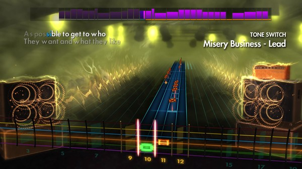 Скриншот №1 к Rocksmith® 2014 Edition – Remastered – Paramore Song Pack II