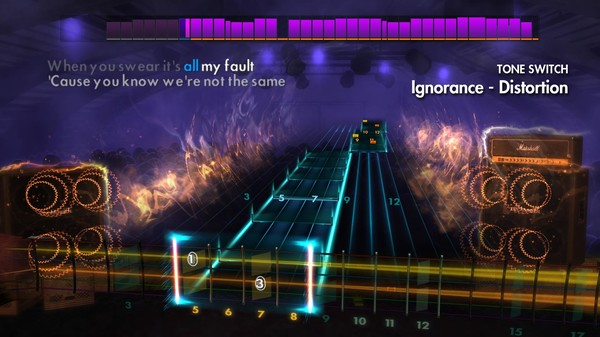 "Скриншот №1 к Rocksmith® 2014 Edition – Remastered – Paramore - ""Ignorance"""
