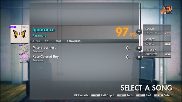 "Скриншот №2 к Rocksmith® 2014 Edition – Remastered – Paramore - ""Ignorance"""