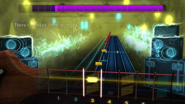 "Скриншот №5 к Rocksmith® 2014 Edition – Remastered – Thin Lizzy - ""Whiskey in the Jar"""