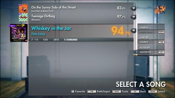 "Скриншот №3 к Rocksmith® 2014 Edition – Remastered – Thin Lizzy - ""Whiskey in the Jar"""