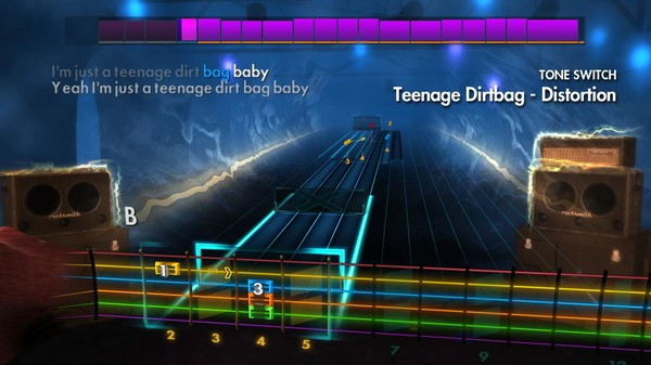 "Скриншот №1 к Rocksmith® 2014 Edition – Remastered – Wheatus - ""Teenage Dirtbag"""