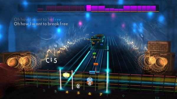 Скриншот №3 к Rocksmith® 2014 Edition – Remastered – Queen Song Pack III