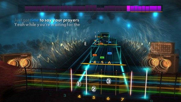"Скриншот №2 к Rocksmith® 2014 Edition – Remastered – Queen - ""Hammer to Fall"""
