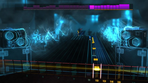 "Скриншот №4 к Rocksmith® 2014 Edition – Remastered – Queen - ""Hammer to Fall"""