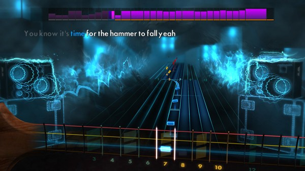 "Скриншот №5 к Rocksmith® 2014 Edition – Remastered – Queen - ""Hammer to Fall"""