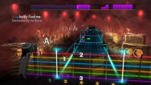 "Скриншот №5 к Rocksmith® 2014 Edition – Remastered – Queen - ""Somebody to Love"""