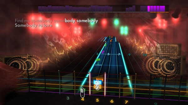 "Скриншот №4 к Rocksmith® 2014 Edition – Remastered – Queen - ""Somebody to Love"""