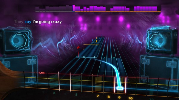 "Скриншот №1 к Rocksmith® 2014 Edition – Remastered – Queen - ""Somebody to Love"""