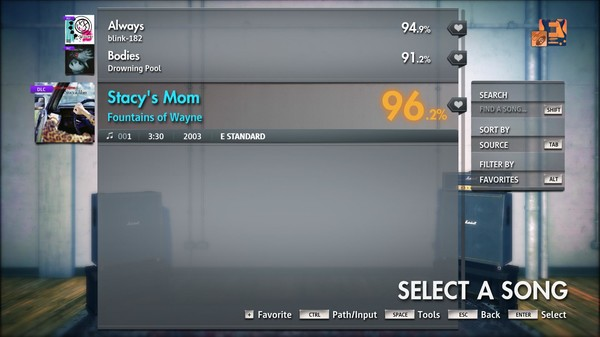 "Скриншот №3 к Rocksmith® 2014 Edition – Remastered – Fountains of Wayne - ""Stacys Mom"""